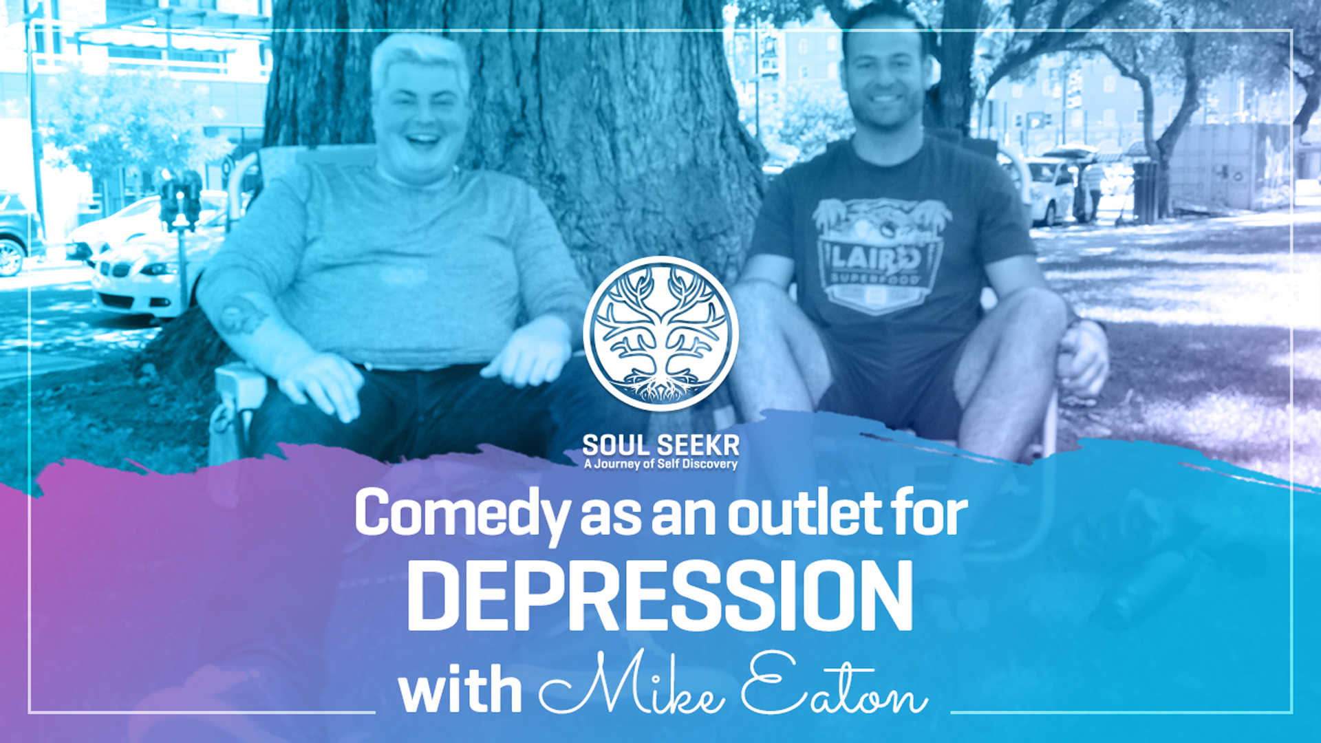Pod #5: Trading Tears for Laughs w/ Comedian Mike Eaton