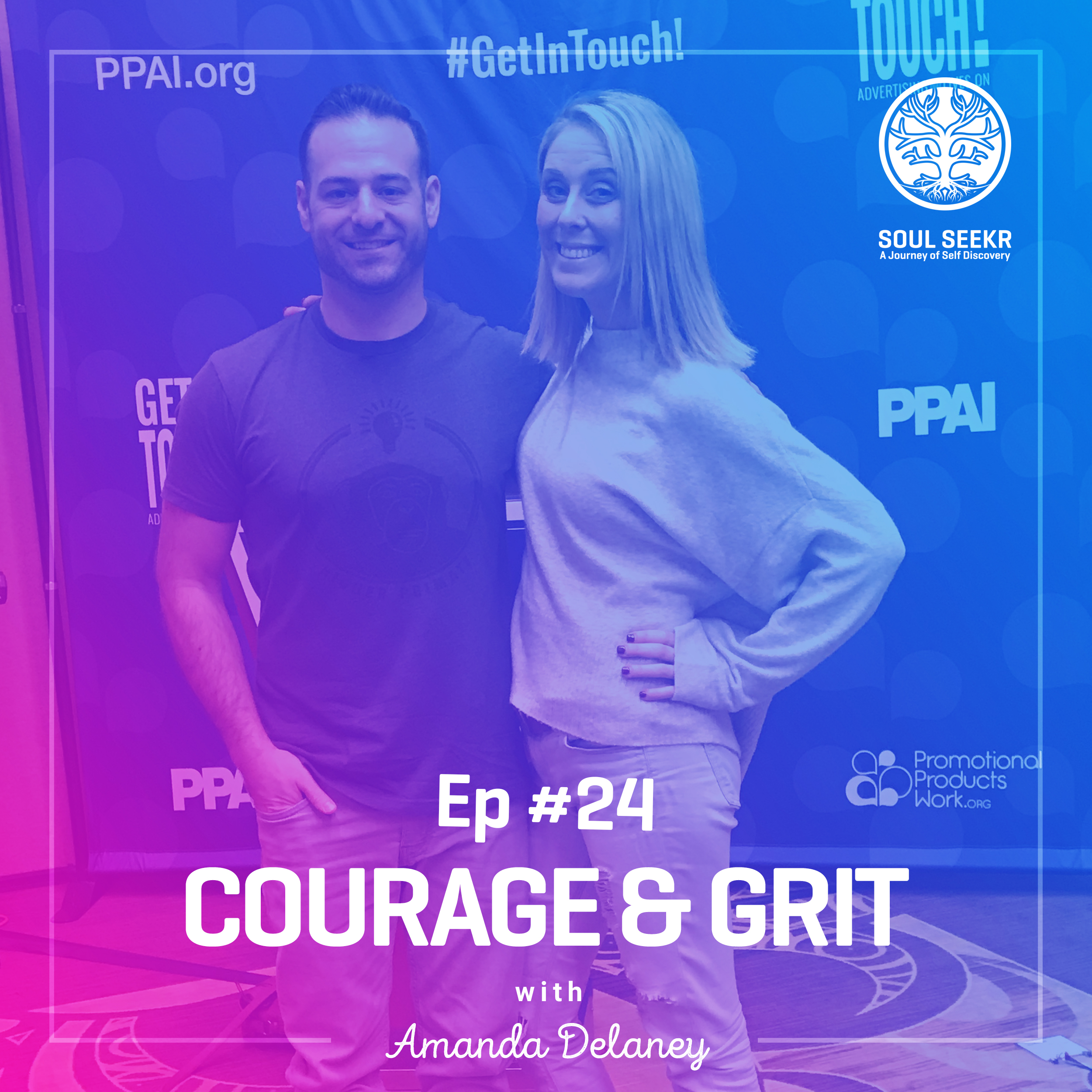 #24: Courage and Grit with Amanda Delaney