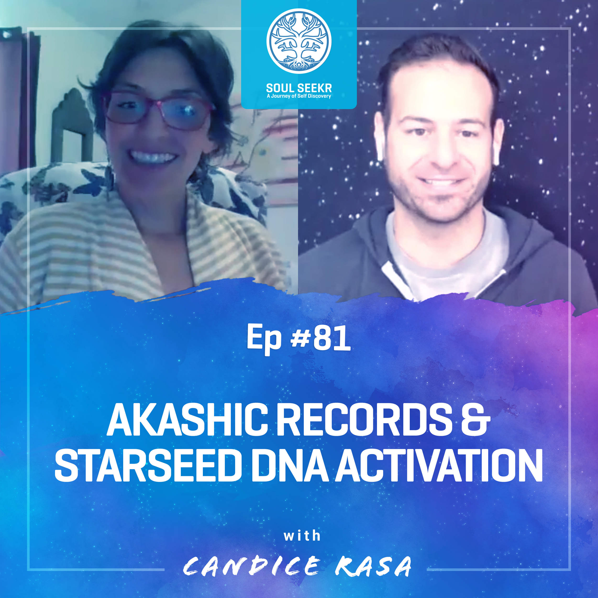 #81: Akashic Records & Starseed DNA Activation with Rasa Healing