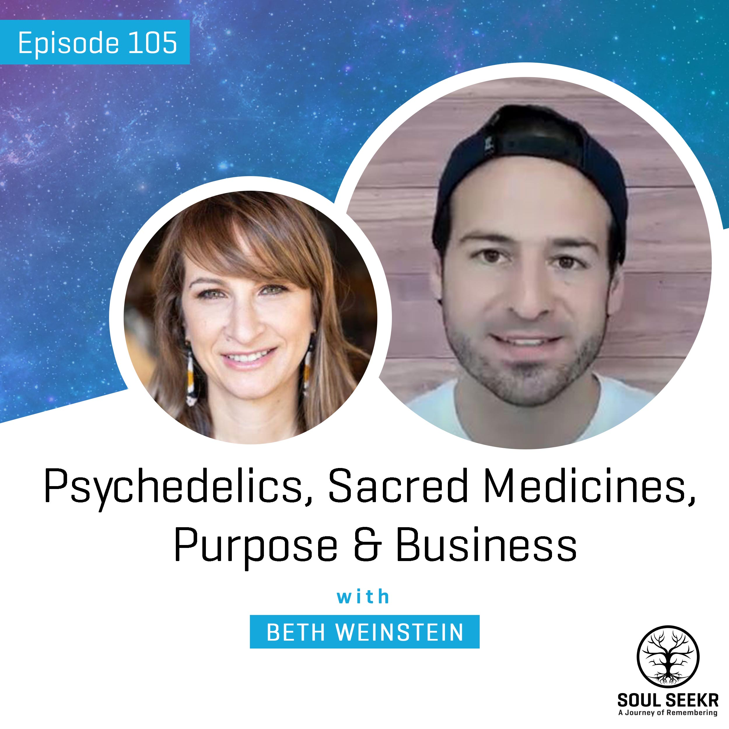 #105: Psychedelics, Sacred Medicines, Purpose & Business with Beth Weinstein